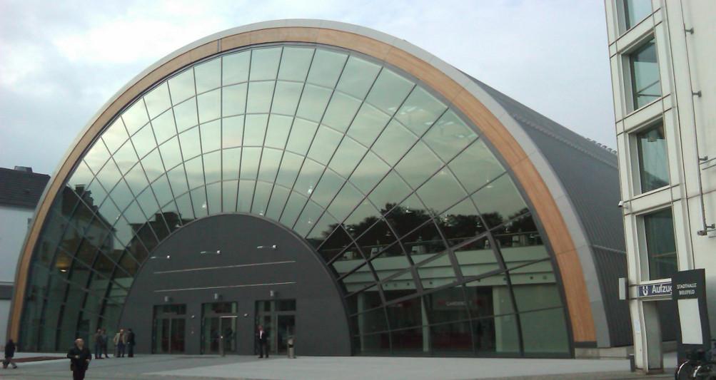 Ausstellungshalle Bielefeld Außenansicht