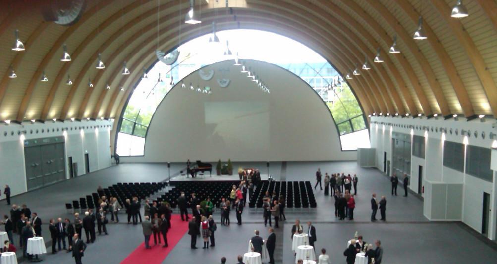 Ausstellungshalle Bielefeld Innenansicht